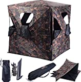 K&A Company Ground Hunting Blind Portable Deer Pop Up Camo Hunter Outdoor New Waterproof 2-3 Person Storage Bag