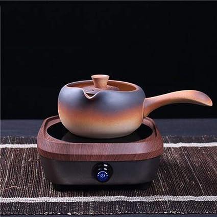 AA-SS Tetera eléctrica de cerámica, Juego de té, Tetera de cerámica,
