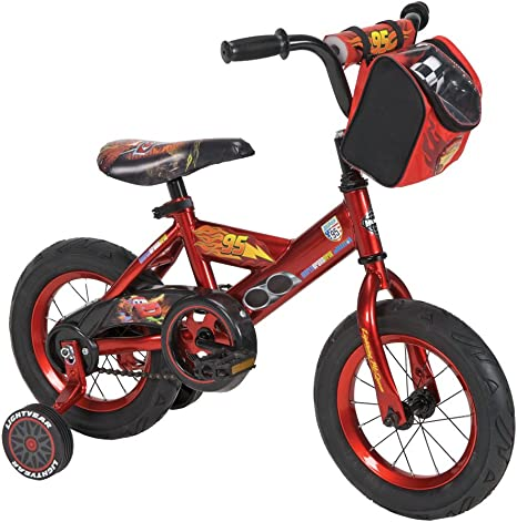 Huffy Disney Cars - Bicicleta con Ruedas de Entrenamiento (12