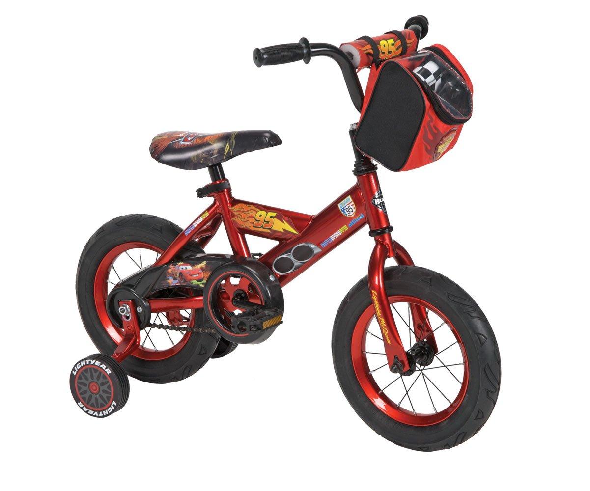 Boys 12'' Cars Bike with Training Wheels
