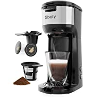 Sboly Single Serve K Cup Coffee Maker Brewer for K-Cup Pod with Self Cleaning Function