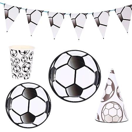 Happyyami 33 piezas de suministros de fiesta de fútbol ??set ...