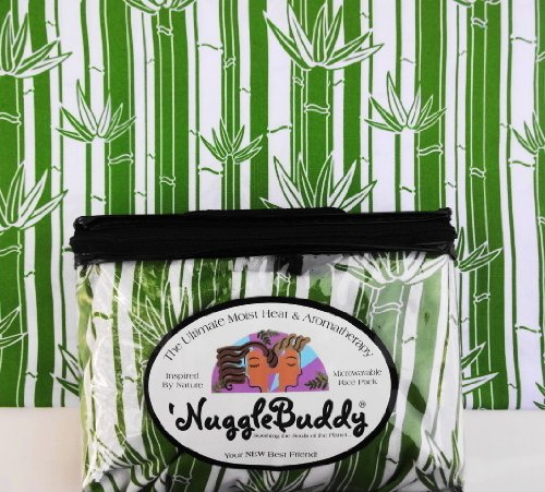 'NUGGLEBUDDY Moist Heat & Aromatherapy Organic Rice Pack for