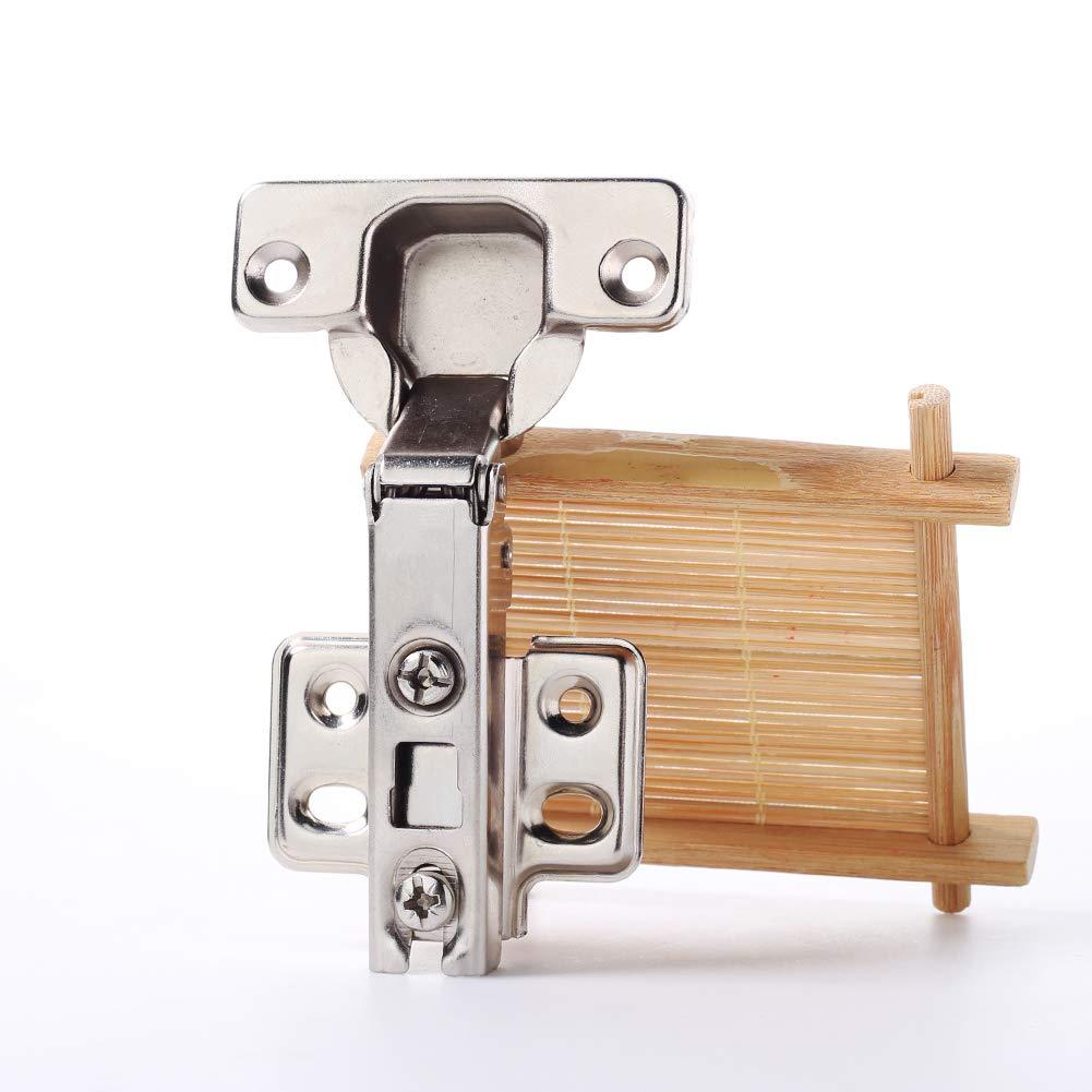 Durable de cuisine Cabinet Placard Charni/ère de porte de s/écurit/é standard Full Overlay Outil Qingsb