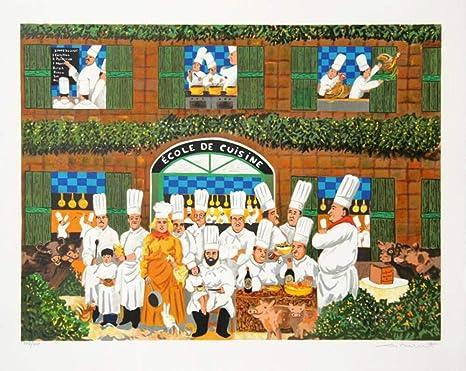 Amazon Com Guy Buffet Ecole De Cuisine Posters Prints