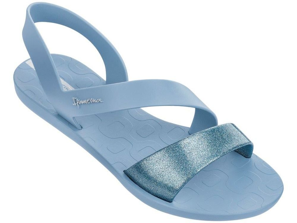 Ipanema Womens Black Vibe Sandals  35/36 EU|Blue