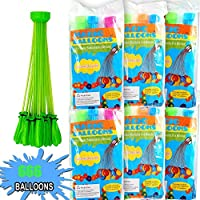 Water Balloons, Fill in 60 Seconds, 666 pcs Water Balloons