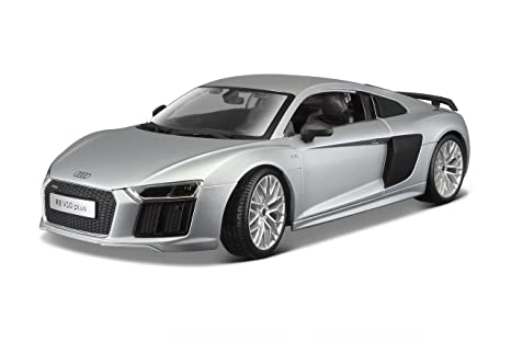 Amazoncom Audi R V Plus Silver By Maisto Toys Games - Audi r8 pictures