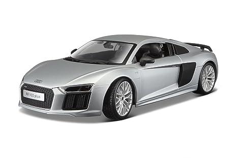Amazoncom Audi R V Plus Silver By Maisto Toys Games - Audi r8 v10
