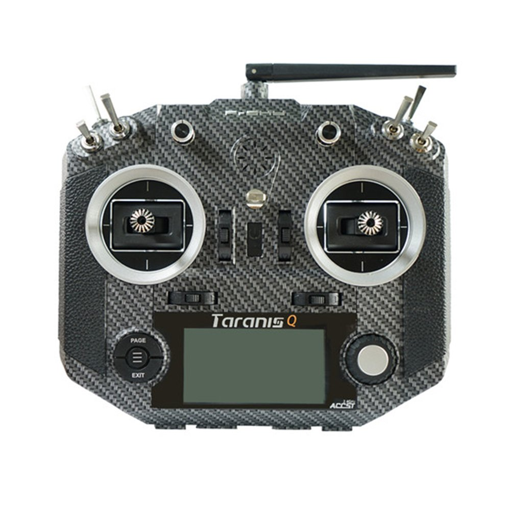 ZMR FrSky 2.4 G 16 CH ACCST Taranis Q x7s送信機TXモード2 m7ジンバルワイヤレストレーナーFreeリンクAppバッグfor RCモデルドローンUAV B075TXGCCC