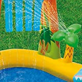 Kids Inflatable Pool. Small Kiddie Blow Up Above