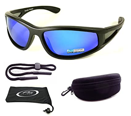 4b2945662fd Image Unavailable. Image not available for. Color  Floating Polarized  Mirrored Sunglasses for Fishing ...