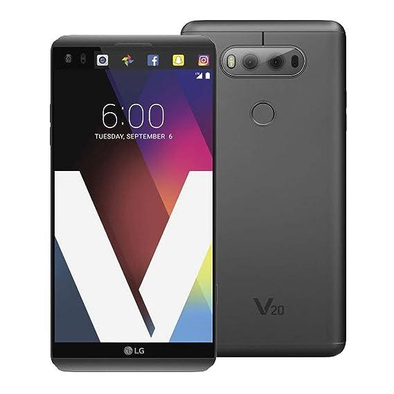 LG V20 H918T T-Mobile 4G LTE Quad-Core Phone w/Dual Rear Camera (16MP+8MP)  - Titan
