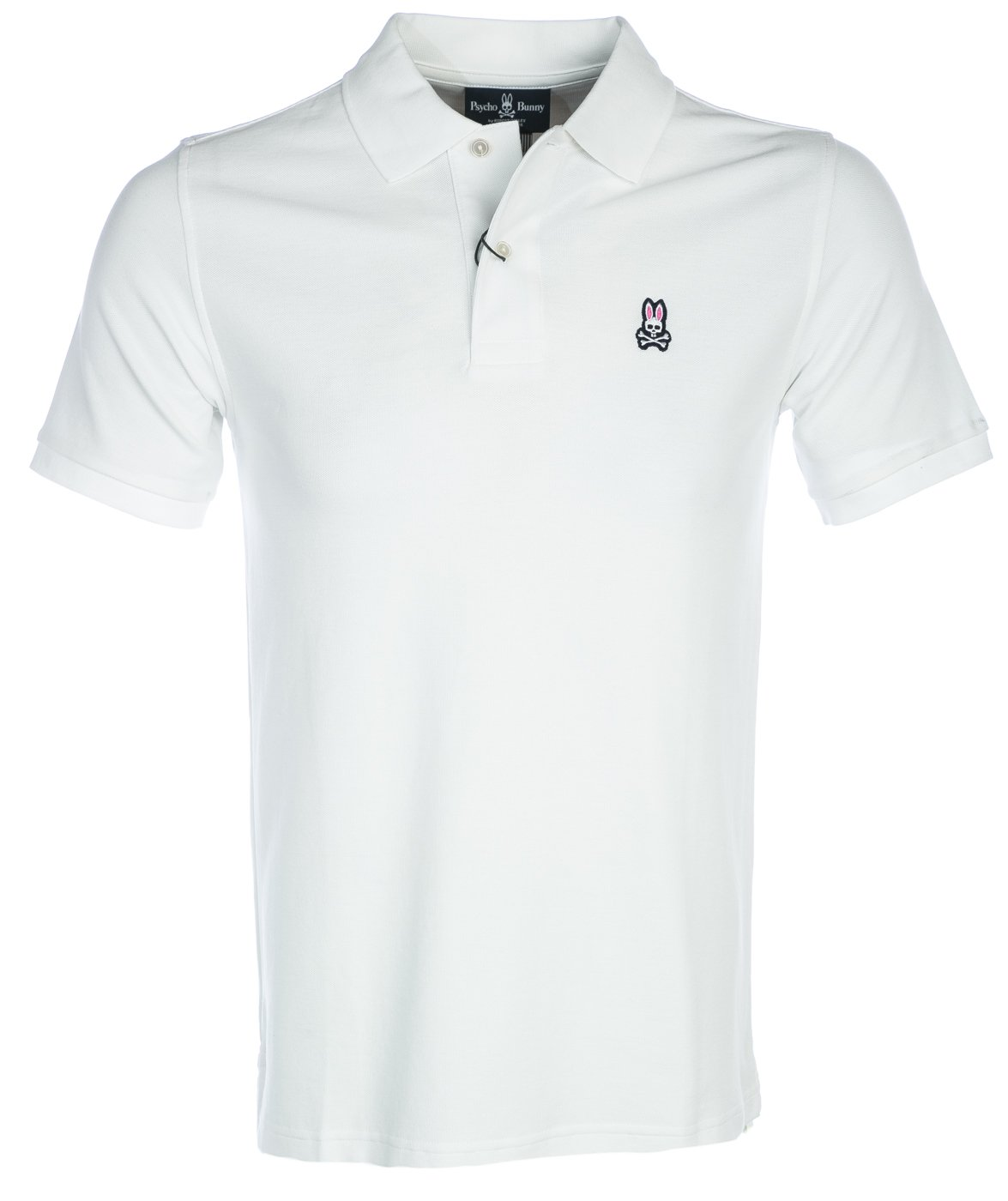 Psycho Bunny(サイコバニー) ポロシャツ Classic Polo 半袖 ゴルフ メンズ 男性用 [並行輸入品] B06XH1KMWR 3L ホワイト ホワイト 3L