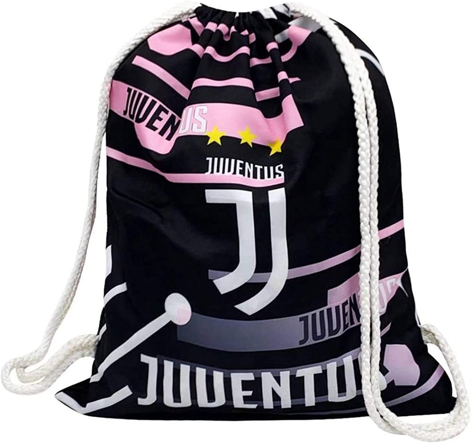 Football Club Backpack Bag Light Weight Multi-Use Drawstring Backpack