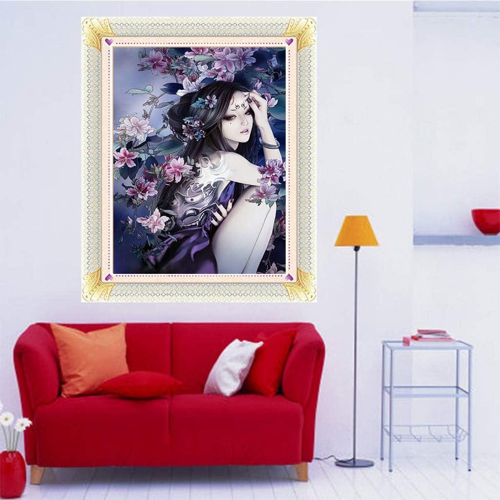 5D Diamond Painting Strass D/écoration de No/ël Design Moderne LianMengMVP 5D Broderie Diamant kit Complet Beaut/é Chinoise