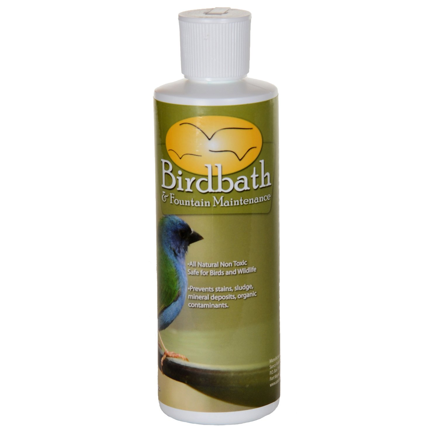 Sanco 88002 Bird Bath & Fountain Maintenance, 8 oz