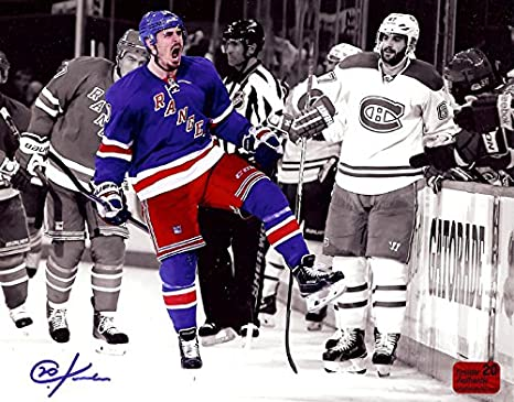 Image Unavailable. Image not available for. Color  New York Rangers Chris  Kreider ... 8f2ad48bb