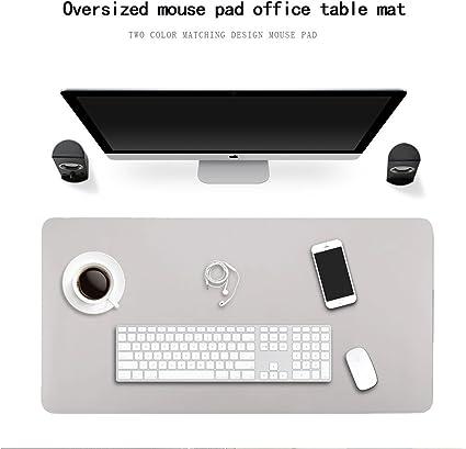 impermeabile grande antiscivolo multifunzione accessori per ufficio Grigio Tappetino per mouse da scrivania