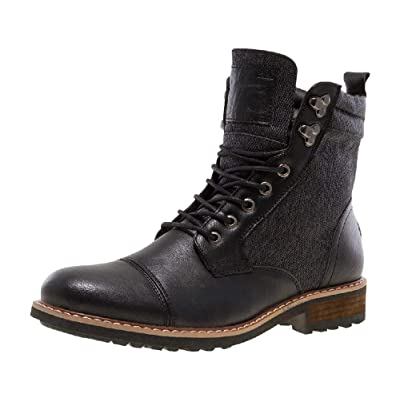 J75 by Jump Men's Garret Cap Toe Military Combat Work Boot: Shoes
