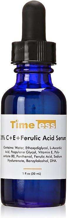 Timeless Skin Care 20% Vitamin C Plus E Ferulic Acid Serum, 1 oz.
