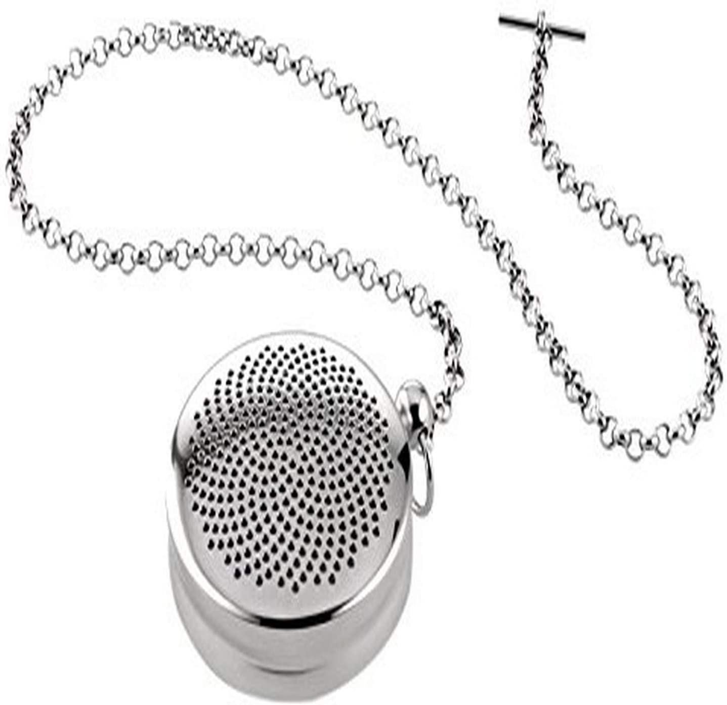 Alessi T-Timepiece Tea infuser, One size, Steel
