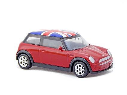 Amazoncom Mini Cooper One Union Jack 3 Inch Toy Car Toys Games