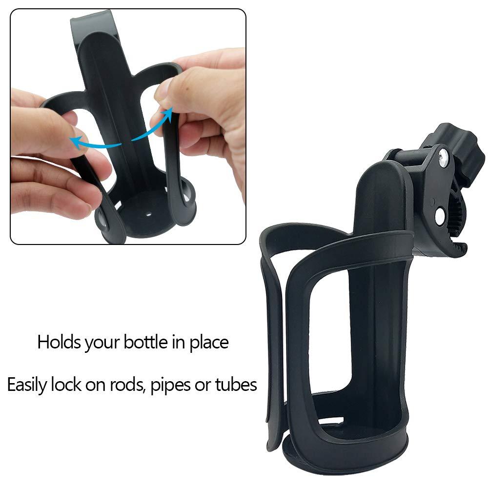 Amazon.com: Pack de 2 soportes para vasos de cochecito ...