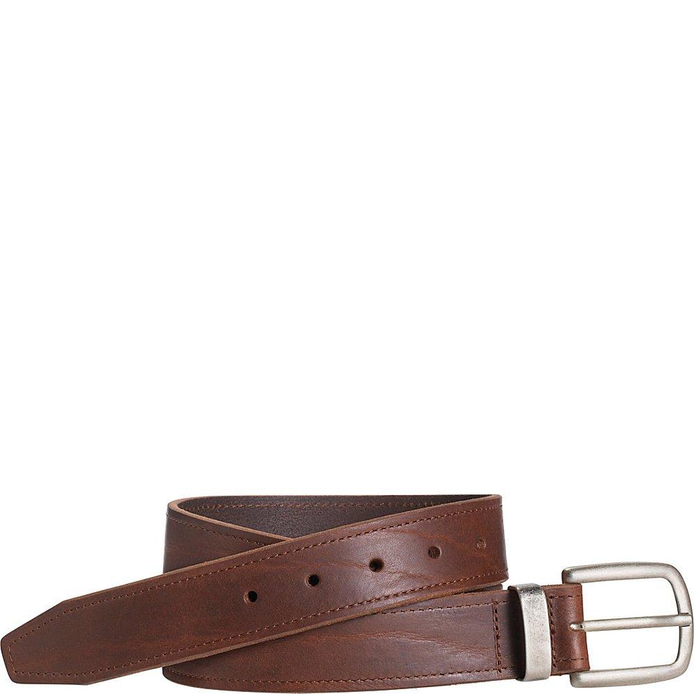 Johnston /& Murphy Casual Raised Leather Belt 42 - Dark Brown