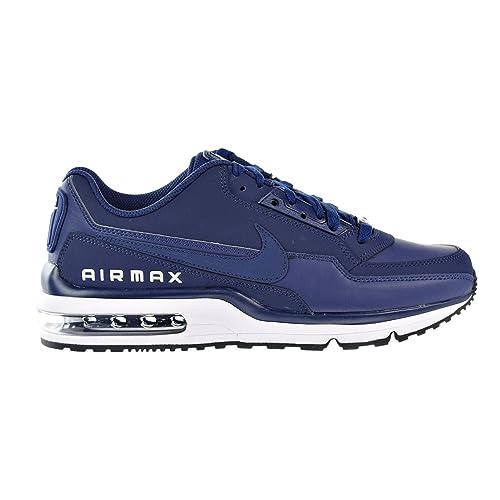 best website 4c371 c7b45 Nike Mens Air MAX LTD 3 Binary Blue Leather Trainers 41 EU Amazon.es  Zapatos y complementos