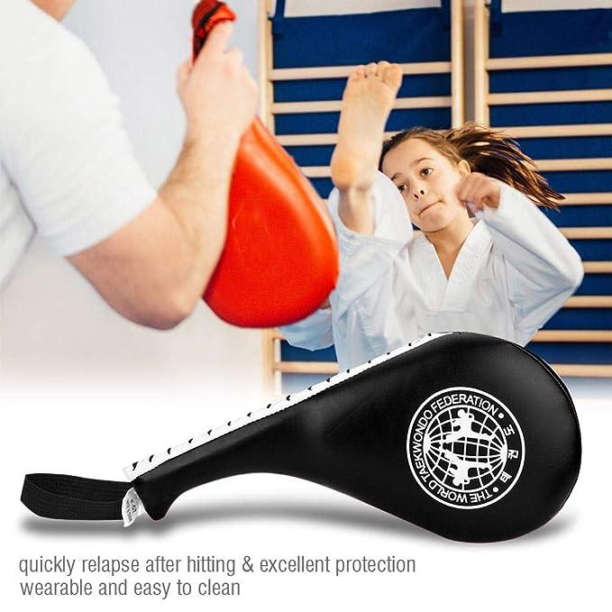 VGEBY1 Target Pad Hand Racket Sparring Kick Target Taekwondo Punching Pad for Boxing Karate Training Muay Thai Kickboxing Wing Chu