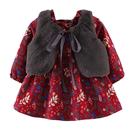 ca7679e8cb63 Amazon.com: ❤️Mealeaf❤ Baby Boys and Girls Clothes with Toddler ...