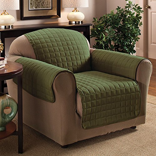 Sweet Home Collection Luxury Furniture Protector With Quilted Design Preserves Sofa Loveseat