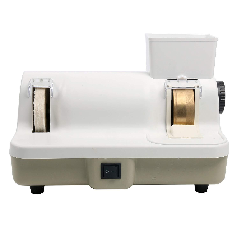Optical Hand Edge-Grinder Eyeglasses Lens Hand Edger and Polisher 110V