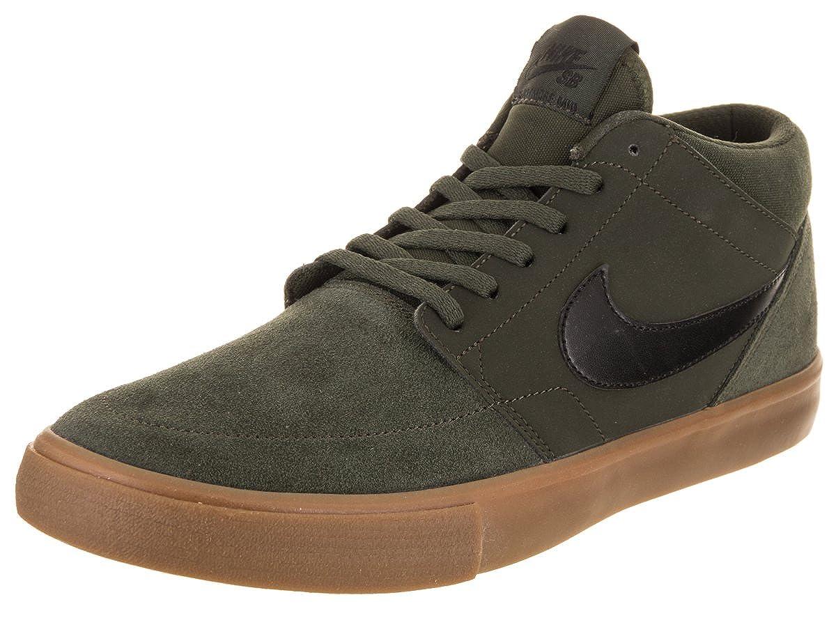 operación Preconcepción puesta de sol  Buy Nike Men's SB Portmore II Solar Mid Sequoia/Black/Gum Med Brown Skate  Shoe 10 Men US at Amazon.in