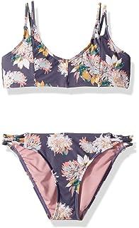 1b5c6db3b27 Amazon.com: O'Neill Big Girls' Faye Tri Top Swim Bikini Set: Clothing