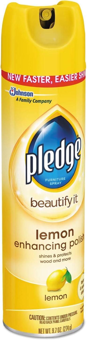 Pledge Lemon Clean Furniture Spray - 9.7 oz