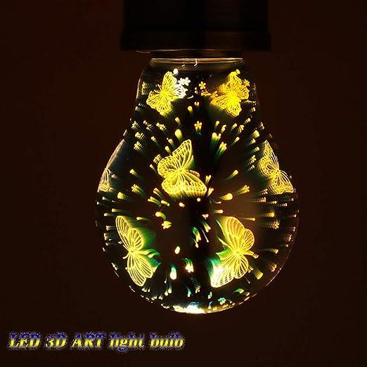 Bombillas de colores vintage Edison,LED Decorativo Sparkle ...