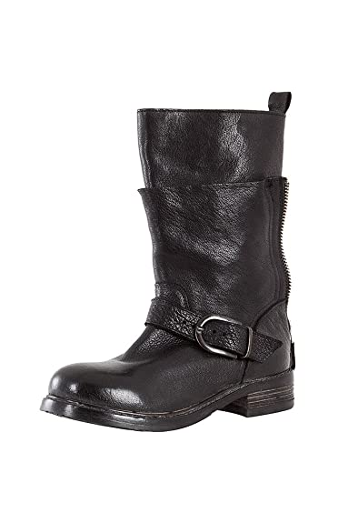 27ff2a31f2e711 MOMA Damen Stiefel RAVELLONE Nero schwarz Gr. 41  Amazon.de  Schuhe ...
