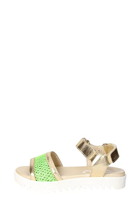 b1206b053 Ciao Bimbi - Sandalias de vestir para niña Amarillo dorado  Amazon.es   Zapatos y complementos