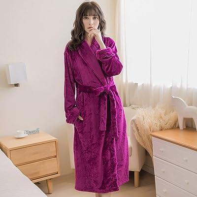 Automne Hiver Saison Lady Pyjamas À manches longues Accueil Vêtements Sommeil Robe Doux Mignon Peignoir GAODUZI