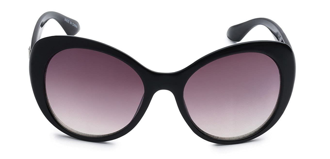 acd7bf41ca8 Amazon.com  Eason Eyewear Women s Super Trendy Fasion Cat Eye Sunglasses EYE  Styled 55 mm Black Cheetah Print Purple  Clothing