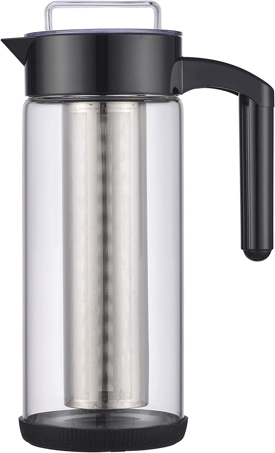 PURPLECROWN Deluxe Cold Brew Coffee Maker and Tea Brewer Cold Brew Coffee Maker with Pitcher, Filter, Reusable For Hot & Cold -1.5L