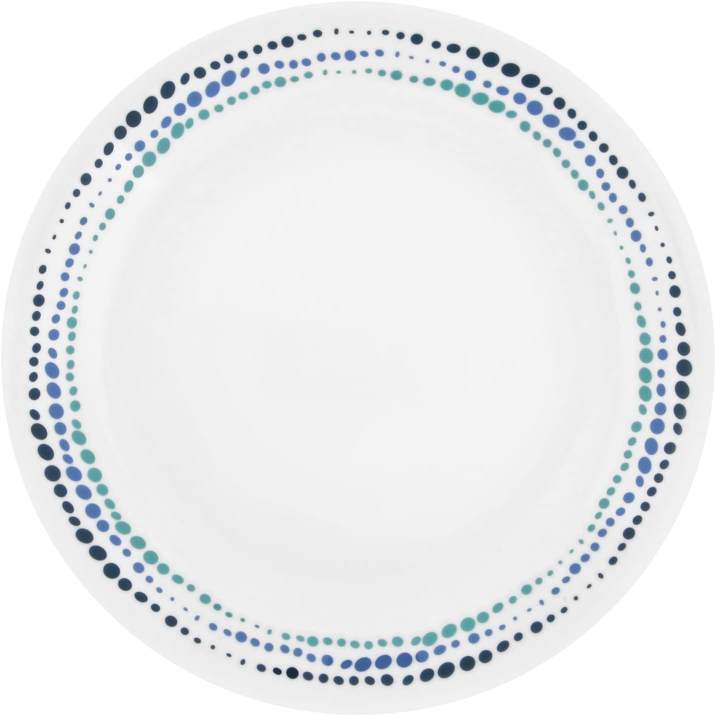 "Corelle Livingware Ocean Blues 8.5"" Lunch Plate (Set of 4)"