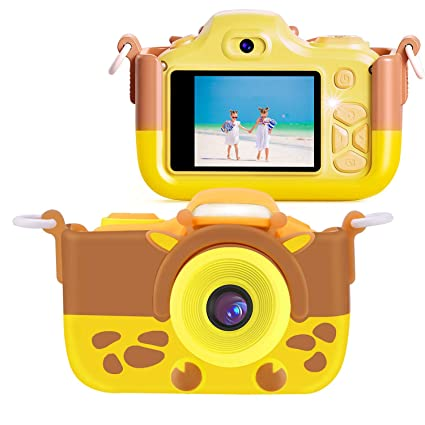 TR Turn Raise Cámara de Fotos para Niños, Video Selfie Flash Jugute Digital Cámara de 16MP 2 Pulgada 4X Zoom 1080P HD con Tarjeta de Memoria ...