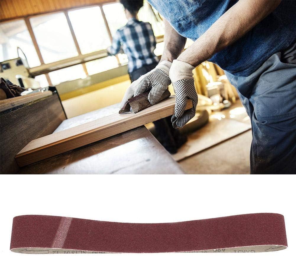 100# 10PCS GXK51-B Ceinture de pon/çage Bande abrasive pour bande abrasive dalumine pour le polissage des meubles en bois