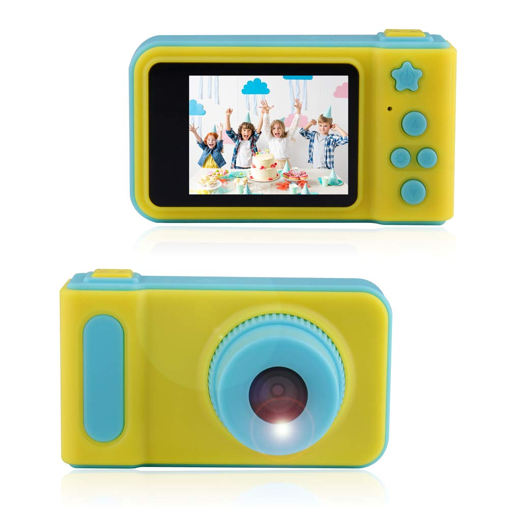 ARTITAN Kids Camera Toys Gifts for 4~8 Years Old,Shockproof Cameras Great Gift Mini Child Camcorder for Little Child with Soft Silicone Shell for Outdoor Play (Green)