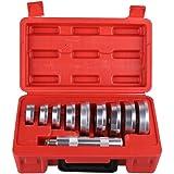 GOTOTOP 10pcs Profesional Herramienta de Rodamiento de Rueda Arrancador Extractor Set Herramientas de Eliminación de Cubos
