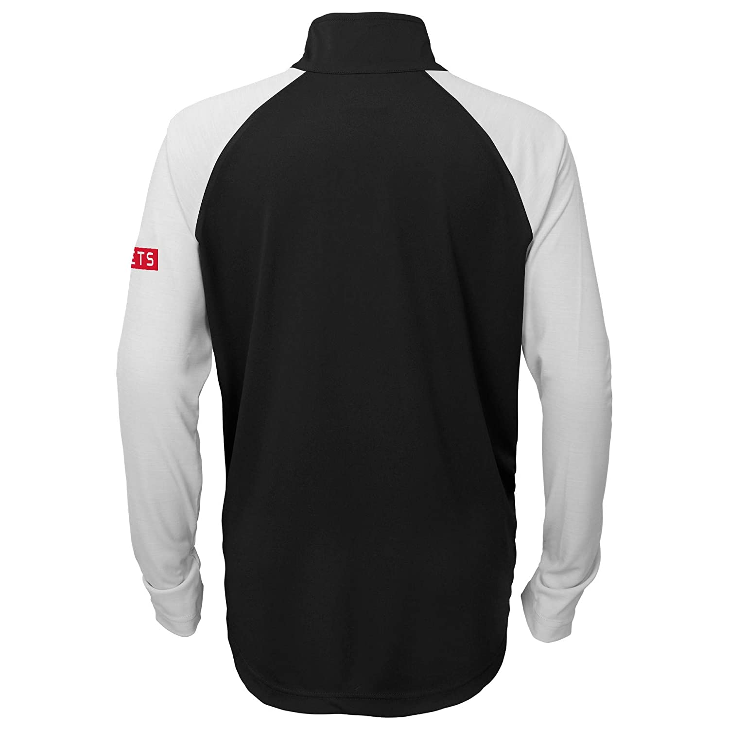 OuterStuff Youth Houston Rockets Black Destined Performance Half-Zip Pullover