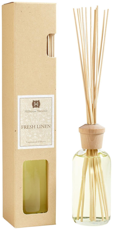 Hillhouse Naturals Reed Diffuser 6 Ounce - Fresh Linen by Hillhouse Naturals